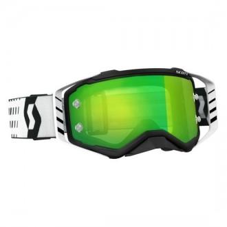 Gogle Scott Prospect Czarno/Białe (Zielone lustro)