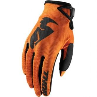 Rękawice L Thor SECTOR orange/black