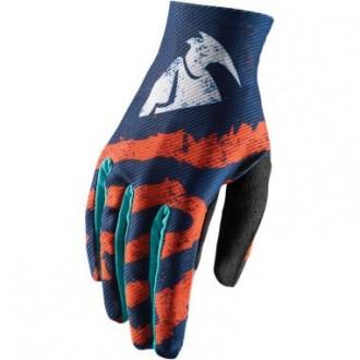 Rękawice S Thor  S8 VOID blue/orange/teal