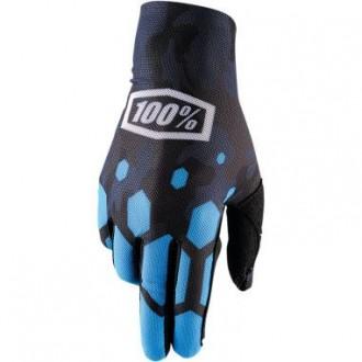 Rękawice L 100% CELIUM black/gray/blue