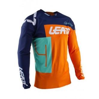 Koszulka LEATT (2020/2021) GPX4.5 XXL pomarań/nieb
