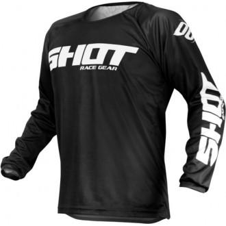 Koszulka SHOT RAW (2020) XL czarna