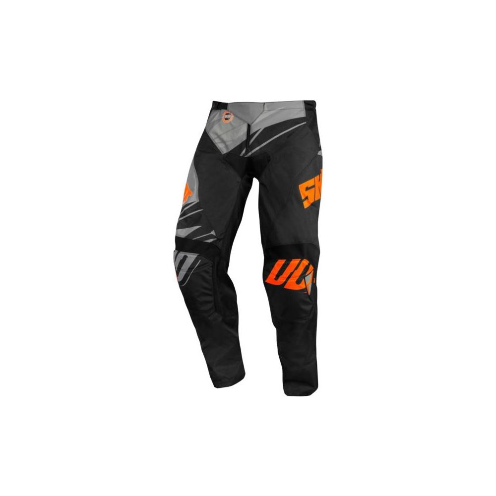 Spodnie SHOT VENTURY (2020) 36 czarny/pomarańczowy