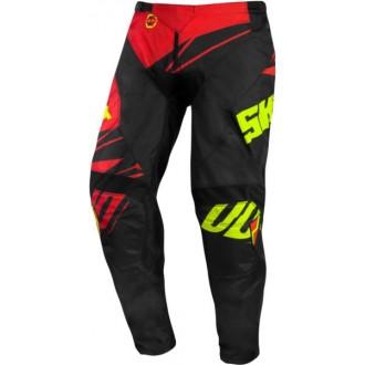 Spodnie SHOT VENTURY (2020) 30 czerwony/czarny