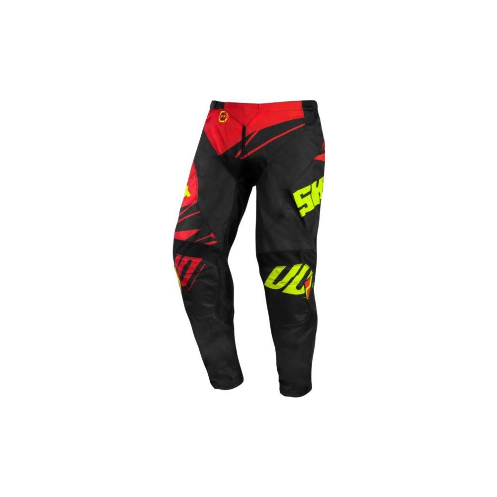 Spodnie SHOT VENTURY (2020) 32 czerwony/czarny