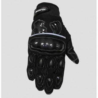 POLEDNIK rękawice cross Carbon czarny roz L