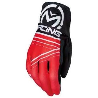 Rękawice XL MOOSE RACING MX2 czarno/czerwone