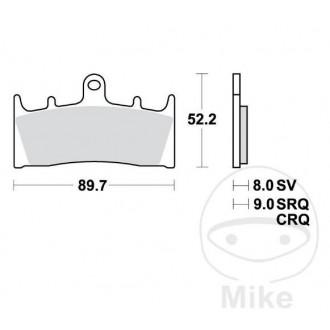 Klocki hamulcowe TRW MCB659SV