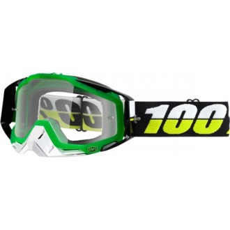 Gogle 100% RACECRAFT zielone