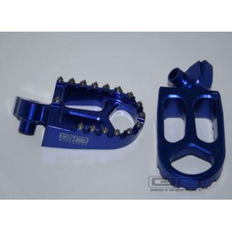 Podnóżki YAMAHA YZ YZ-F WR-F GNMOTOSPORT blue
