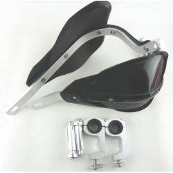 Handbary osłony rąk aluminiowe typ 2 czarny/biały