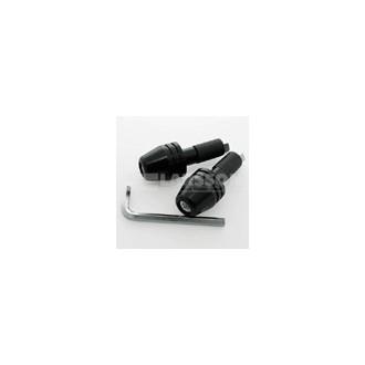 Końcówki kierownicy aluminium czarne