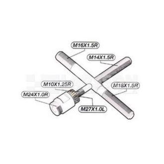 Ściągacz wirnika krzyżakowy JMT 6 rozmiarów