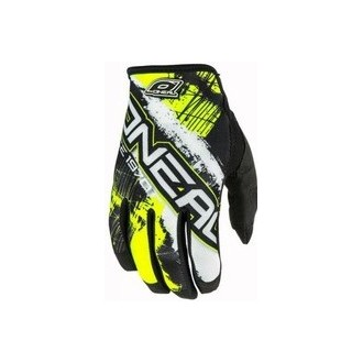 Rekawice Oneal Jump Shocker black/neon yellow