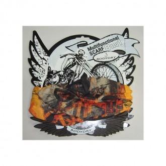 BODYDRY chusta komin bandana Moto Orange 8w1