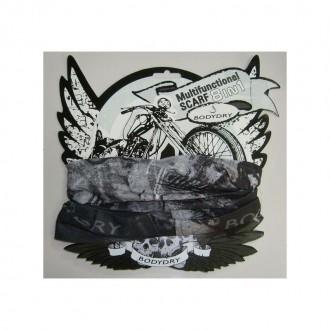 BODYDRY chusta komin bandana Moto Skull 8w1